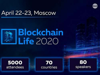 Blockchain Life 2020 Event | April 22-23, Moscow